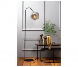 Afbeelding van product: Selected by Rakel vloerlamp glas/metaal zwart/smoke