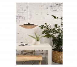 Afbeelding van product: Selected by Kalimantan hanglamp div. afmetingen bamboe zwart/naturel L - H21 x Ø87 cm