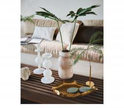 Afbeelding van product: Selected by Bulb kandelaar 25 cm gerecycled glas wit