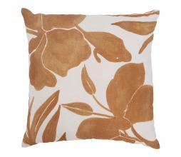 Afbeelding van product: Selected by Floral kussen 45x45 cm wit/bruin