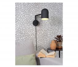 Afbeelding van product: Selected by Marseille wandlamp metaal zwart
