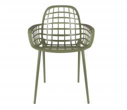 Afbeelding van product: Zuiver Albert Kuip tuinstoel (binnen-buiten) aluminium groen