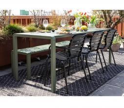 Afbeelding van product: Zuiver Vondel tuinstoel (binnen-buiten) zwart aluminium