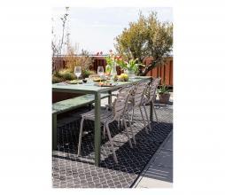 Afbeelding van product: Zuiver Vondel tuinstoel met armleuning (binnen-buiten) aluminium klei