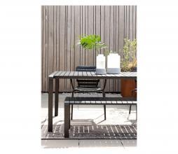 Afbeelding van product: Zuiver Vondel tuintafel div. afmetingen metaal zwart L - 168,5 cm (4 personen)