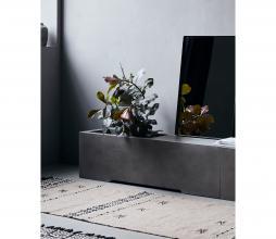 Afbeelding van product: Housedoctor Lets bankje met opening (binnen-buiten) cement grijs