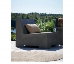 Afbeelding van product: Housedoctor Loun loungestoel (binnen-buiten) beton grijs
