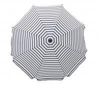 House Doctor Oktogon parasol Ø180 cm zwart/wit