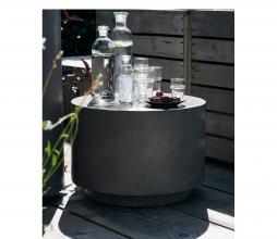 Afbeelding van product: House Doctor Out salontafel H35 x Ø50 cm (binnen-buiten) betonlook grijs