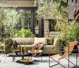 Afbeelding van product: vtwonen Hollandia 3-zits bank outdoor (binnen-buiten) groen