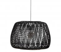 WOOOD Exclusive Moza hanglamp Ø70 cm bamboe zwart