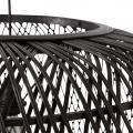 Thumbnail van WOOOD Exclusive Moza hanglamp Ø36 cm bamboe zwart