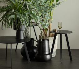 Afbeelding van product: WOOOD Fer salontafel Ø70 cm metaal zwart