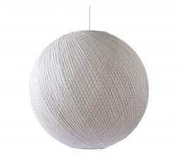 Afbeelding van product: HKliving Ball hanglamp Ø80cm bamboe/papier wit