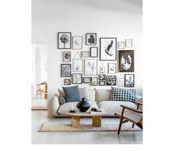 Afbeelding van product: vtwonen fotolijst met passe partout hout zwart 26x21cm