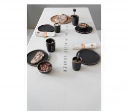 Afbeelding van product: Zusss tafelkleed 'met jou is alles leuker' 230x140 cm beige