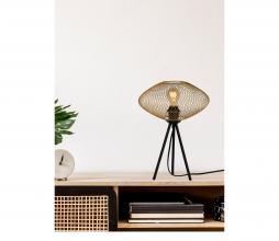 Afbeelding van product: Selected by Mesh tafellamp Ø30cm metaal mat goud