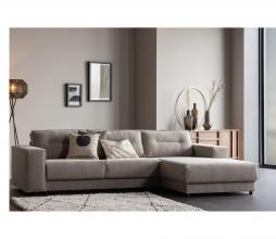 Afbeelding van product: Basiclabel Randy bank chaise longue zand rechts