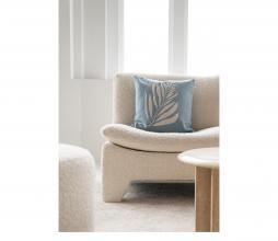Afbeelding van product: Zusss kussen takje 45x45 cm katoen grijs-blauw