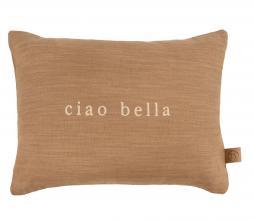Afbeelding van product: Zusss kussen ciao bella 25x35 cm katoen khaki