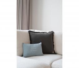 Afbeelding van product: Zusss kussen beauty of things 25x35 cm katoen grijs-blauw