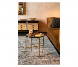 Afbeelding van product: Dutchbone Vidrio sidetable Ø40 cm metaal/glas brass