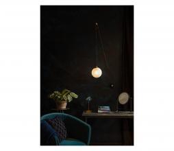 Afbeelding van product: Dutchbone Bulan wandlamp metaal brass