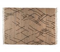 Dutchbone Ishank vloerkleed div. afmetingen jute bruin 170x240 cm