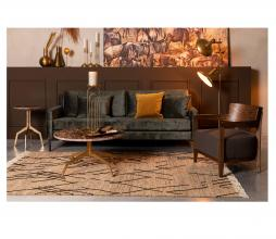 Afbeelding van product: Dutchbone Ishank vloerkleed div. afmetingen jute bruin 200x300 cm