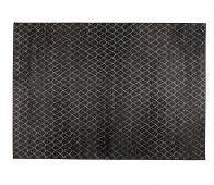 Zuiver Crossley vloerkleed (binnen-buiten) 170x240 cm zwart