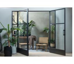 Afbeelding van product: WOOOD Puk hocker (binnen- buiten) aluminium naturel
