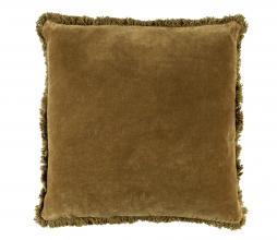 Afbeelding van product: BePureHome Bald sierkussen 45x45 cm velvet tea leaves