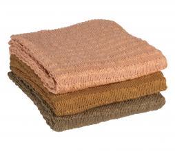 Afbeelding van product: BePureHome Waving gebreid plaid 130x170 cm tea leaves