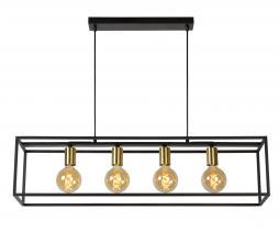 Afbeelding van product: Selected by Ruben hanglamp metaal zwart/goud
