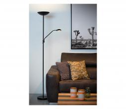 Afbeelding van product: Selected by Zenith vloerlamp Ø 25 cm aluminium zwart