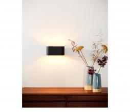 Afbeelding van product: Selected by Xera wandlamp aluminium zwart