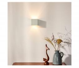 Afbeelding van product: Selected by Xio wandlamp metaal wit