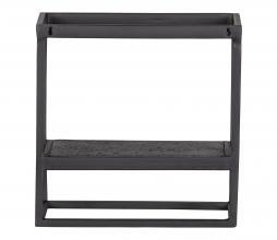 Afbeelding van product: WOOOD Febe wandrek vierkant metaal zwart