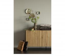 Afbeelding van product: WOOOD Exclusive Fallon kussen 40x60 cm velvet espresso