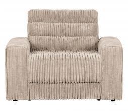 Afbeelding van product: BePureHome Date fauteuil grove ribstof naturel