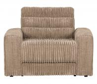 BePureHome Date fauteuil grove ribstof travertin
