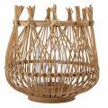 Selected by Nature lantaarn met glas bamboe