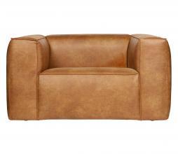 Afbeelding van product: WOOOD Bean fauteuil recycle leer cognac