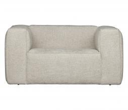 Afbeelding van product: WOOOD Exclusive Bean fauteuil grove melange stof naturel