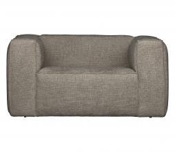 Afbeelding van product: WOOOD Exclusive Bean fauteuil grove melange stof travertin