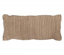 Afbeelding van product: WOOOD Exclusive Bean kussen grove ribstof travertin