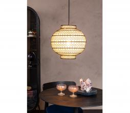 Afbeelding van product: Dutchbone Ming hanglamp staal canvas Ø 35cm