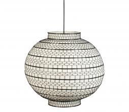 Afbeelding van product: Dutchbone Ming hanglamp staal canvas Ø 45cm