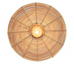 Afbeelding van product: Selected by Mataka wandlamp div. afmetingen rotan naturel Ø51 cm