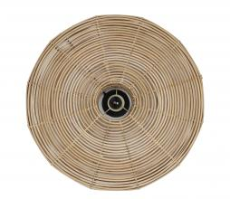 Afbeelding van product: Selected by Mataka wandlamp div. afmetingen rotan naturel Ø60 cm